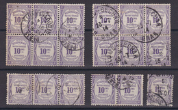 D133 / TAXE / LOT N° 44 OBL - Collections