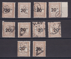 D133 / TAXE / LOT N° 49 OBL - Collections