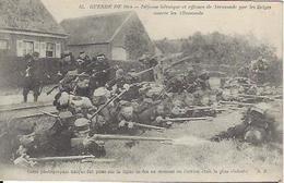 TERMONDE  BELGIQUE GUERRE 1914 1918 DEFENSE HEROÏQUE DE TERMONDE PAR LES GELGE CONTRE LES ALLEMANDS - Weltkrieg 1914-18