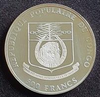 """Republique Populaire Du Congo - 500 Francs 1991 """"XXV Jeux Olympiques 1992""""  Silver - Congo (République 1960)"""