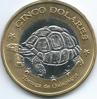 Ecuador / Galapagos Islands - 2008 - 5 Dólars - Ecuador