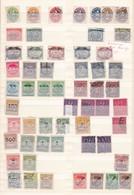 Deutsches Reich  - Dienstmarken - 1920/24 - Sammlung  - Gest./Postfrisch/Ungebr. - Deutschland