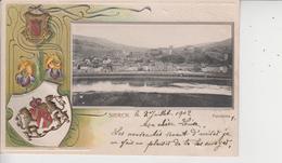 57 SIERCK  -  Panorama  -  CARTE GAUFREE  -  1902  - - Autres Communes