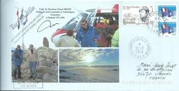 YT 557 Dr Rivolier - Visite Du Préfet Des TAAF - Dumont D'Urville - Terre Adélie - 19/02/2014 - Covers & Documents