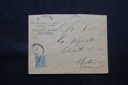 CUBA - Enveloppe Commerciale ( Café, Billard  Et Tabac ) Voyagé En 1897, Affranchissement Plaisant - L 57885 - Cuba (1874-1898)