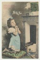 NOEL - Enfant Devant La Cheminée - Edition Bergeret - Bergeret