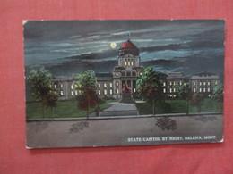State Capitol By Night Montana > Helena >  Ref 3984 - Helena