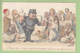 Chagny : La Police Au Maroc. 2 Scans. - Polizei - Gendarmerie