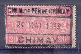F481 Spoorweg Chemin De Fer De CHIMAY  Stempel  CHIMAY - Bahnwesen