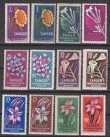 Tanger Fiori Telegrafo Espanol 12v MNH/** Vedere Scansione - B. Plantes Fleuries & Fleurs
