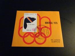 M9453 -  Bloc Used Cuba - 1976 - Olympics Montreal - Summer 1976: Montreal