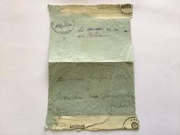 Rare Courrier D'un Prisonnier De Guerre Annonçant Sa Capture 24 Juin 40 Gepruft - 1939-45