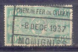 F523 Spoorweg Chemin De Fer De CHIMAY  Stempel  MOMIGNIES - Bahnwesen