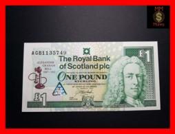 SCOTLAND 1 £  3.3.1997  P. 359 *COMMEMORATIVE*  RBS   UNC - 1 Pound