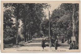 31 VILLEFRANCHE-de-LAURAGAIS  Avenue De Gardouch - Autres Communes