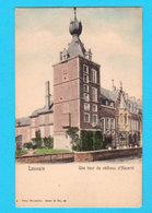 CPA PK LOUVAIN / LEUVEN : Une Tour Du Château D'Héverlé - Kleur Ed. Nels Brux, Série 36 N° 53 - 2 Scans - Leuven