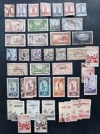 Maroc - Morocco - Marruecos - Lot Timbres Oblitérés Bureaux Français - Maroc (1891-1956)