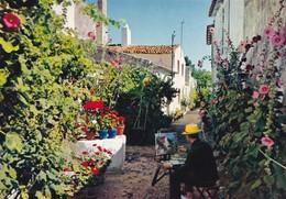 CP 17 Charente-Maritime Ile De Ré Peintre Artiste Dans Son Royaume 188 Artaud - Ile De Ré