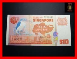 SINGAPORE 10 $ 1976  P. 11   Spots UNC - Singapore