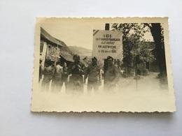 Photo De Cavaliers Français Du 2° Dragons Autriche 1945 - 1939-45