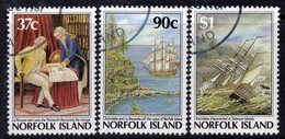 Norfolk Island 1987 Bicentenary Of Settlement IV Set Of 3, Used, SG 433/5 (BP2) - Norfolk Island