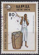 RUANDA RWANDA [1974] MiNr 0666 ( OO/used ) Post - Rwanda
