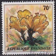 RUANDA RWANDA [1980] MiNr 1057 ( OO/used ) Pflanzen - Rwanda