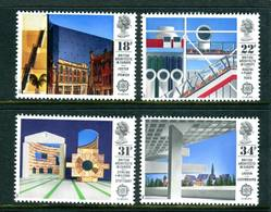 (!) Timbres EUROPA CEPT GRANDE BRETAGNE UK  De 1987  N° Y&T  1266/1269 Thème Architecture  Neuf(s) ** Mnh LUXE - 1987