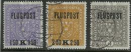 FLUGPOST 1 Tot 3 Gestempeld - Luftpost
