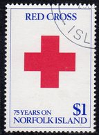 Norfolk Island 1989 75th Anniversary Of Red Cross On Norfolk, Used, SG 469 (BP2) - Norfolk Island