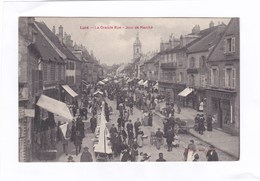 CPA :  14 X 9  -  Lure  -  La  Grande Rue  -  Jour De Marché - Lure