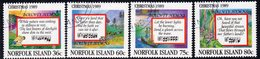 Norfolk Island 1989 Christmas Set Of 4, Used, SG 470/3 (BP2) - Norfolk Island