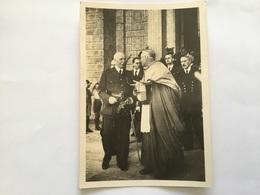 Carte Postale Maréchal Pétain Avec Cardinal  état Français - 1939-45