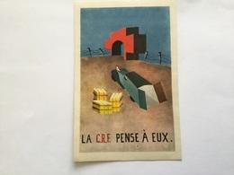 Carte Postale Croix Rouge Aide Aux Prisonniers De Guerre 1944 état Français - 1939-45