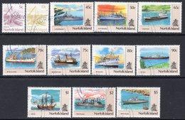 Norfolk Island 1990 Ships Definitives Set Of 12, Used, SG 483/94 (BP2) - Norfolk Island