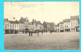 CPA PK ROULERS / ROESELARE : Grand'Place, Vers La Rue Du Nord  Animée - L. Lagaert, Brux N° 6 - Circulée  - 2 Scans - Roeselare