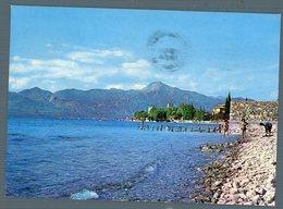 °°° Cartolina - Particolare Visione  Fra Cielo E Lago Torri Del Benaco Viaggiata °°° - Verona