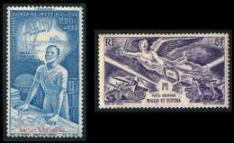 WALLIS ET FUTUNA 1946 - Yv. PA 3 Et 4 NEUF *   Cote= 4,50 EUR - Quinzaine Impériale & Victoire 1945  ..Réf.W&F22536 - Luftpost