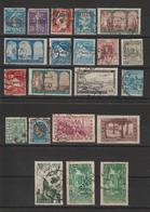 Algérie Lot De 21 Timbres Perforés BB, CL, CIMA Etc - Algeria (1924-1962)