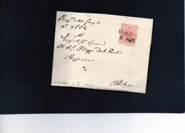 CG24 - Lettera Da Varese Per Milano 2(7/1855? - Senza Testo - Lombardije-Venetië