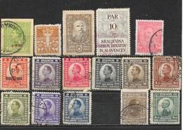 Lot Vrac De 31 Timbres De Yougoslavie, Jugoslavija, Kraljevina Srbov, Hrvatov In Slovencev - Lots & Kiloware (mixtures) - Max. 999 Stamps