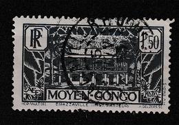 CONGO  FRANCAIS YT 129 Oblitéré 15 FEVRIER .... - Congo Français (1891-1960)