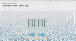 GRAN BRETAGNA 2013 POST & GO STAMPS P&G10 SG FS93/FS94 MNH - Post & Go Stamps