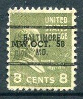USA Precancel - Maryland - Baltimore (see Description) - Precancels