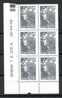 RC 16915 FRANCE N° 4228 COIN DATÉ MARIANNE DE BEAUJARD 28.04.08 PHIL@POSTE NEUF ** TB MNH VF - Coins Datés