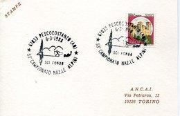 53286 Italia,annullo Postale 1988 Pescocostanzo Campionato Nazionale Alpini, - Italie