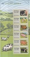 GRAN BRETAGNA 2012 POST & GO STAMPS BRITISH FARM ANIMALS II PIGS P&G7   MNH - Post & Go Stamps