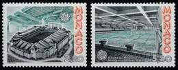 (!) Timbres EUROPA CEPT MONACO De 1987  N° Y&T  1565/1566 Thème Architecture  Neuf(s) ** Mnh LUXE - 1987