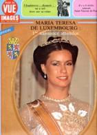 Point De Vue Images Du Monde  1981 N° 1716 Maria Teresa Du Luxembourg , Angleterre Attentat Reine Elisabeth , St Vincent - People