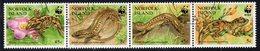 Norfolk Island 1996 Skinks & Geckos Strip Of 4, Used, SG 611/4 (BP2) - Norfolk Island